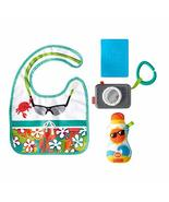 Fisher-Price Tiny Tourist Gift Set, 4 travel-themed baby toys for take-a... - $27.80