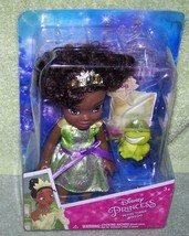 "My First Disney Princess Petite Tiana 6"" Doll & Pet Frog New - $8.50"