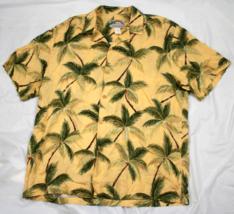 Vintage Paradise Found Mens Hawaiian Aloha Button Front Rayon Shirt Size... - $54.44