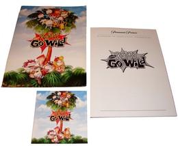 2003 RUGRATS GO WILD Movie PRESS KIT Folder, CD, Production Notes Nickel... - $15.99
