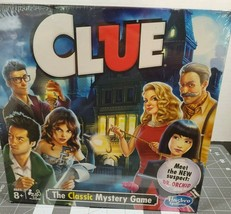 Hasbro Clue The Classic Mystery Game featuring new suspect Dr. Orchid - ... - $12.44