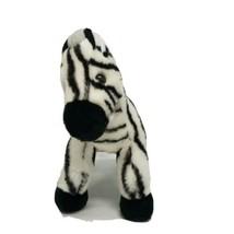 Aurora Plush Zebra Black and White Stuffed Animal - $15.48