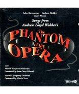 Songs From Andrew Lloyd Webber's 'The Phantom Of The Opera' [Audio CD] S... - $34.74