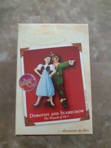 Hallmark Ornament Dorothy And Scarecrow Christmas 2002 Wizard Of Oz Keep... - $19.75