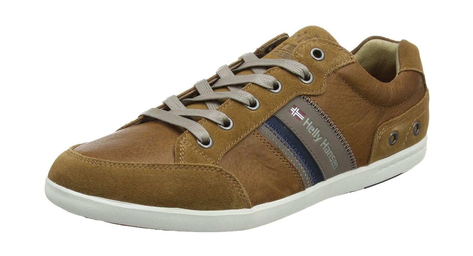 Mens Kordel Leather Boating Shoes Helly Hansen JaBl82L