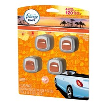 Febreze Car Vent Clips Hawaiian Aloha Scent 3-pack - $42.18