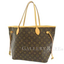 LOUIS VUITTON Neverfull MM Monogram Canvas Tote Bag M40156 France Authentic - $979.90