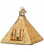 OLD WORLD CHRISTMAS EGYPTIAN PYRAMID ANCIENT TOMB GLASS CHRISTMAS ORNAMENT 20118 - $15.88