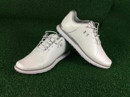 Under Armour Women's Fade SL 9.0 Size Golf Shoes, White - $49.99