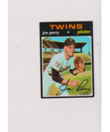 1971 Topps Jim Perry EX++ #500 Raw P615 - $4.20