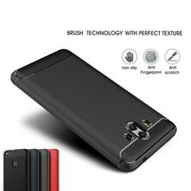Rubber Silicone Soft Brushed Carbon Fiber Armor Shockproof Full Cover Fo... - $12.00+