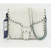 Rebecca Minkoff Blanco Leather Midnighter Oil Slick Hardware Crossbody Bag NWT - $172.76