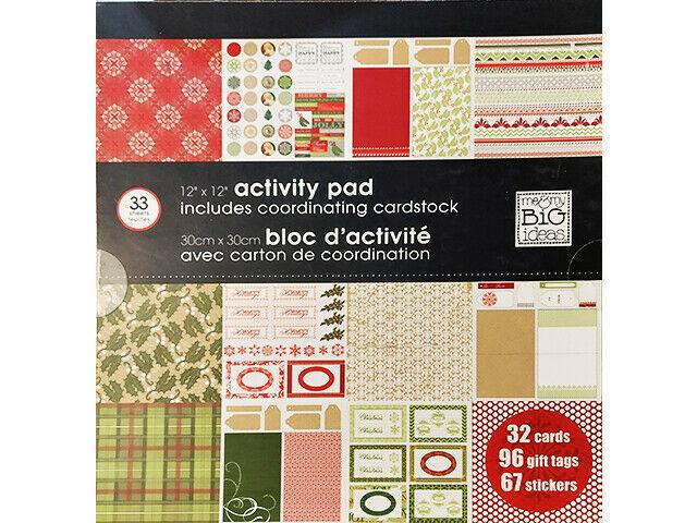 MAMBI 12x12 Activity Pad & Coordinating Cardstock #6207