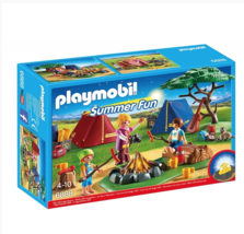 Playmobil Camp Site with LED Fire  #6888 - $39.59