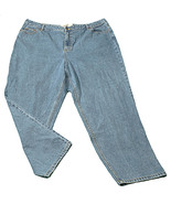 Womens Blue ROUTE 66 Relaxed Fit Denim Jeans 24S X 28 3/4 100% Cotton - $11.40