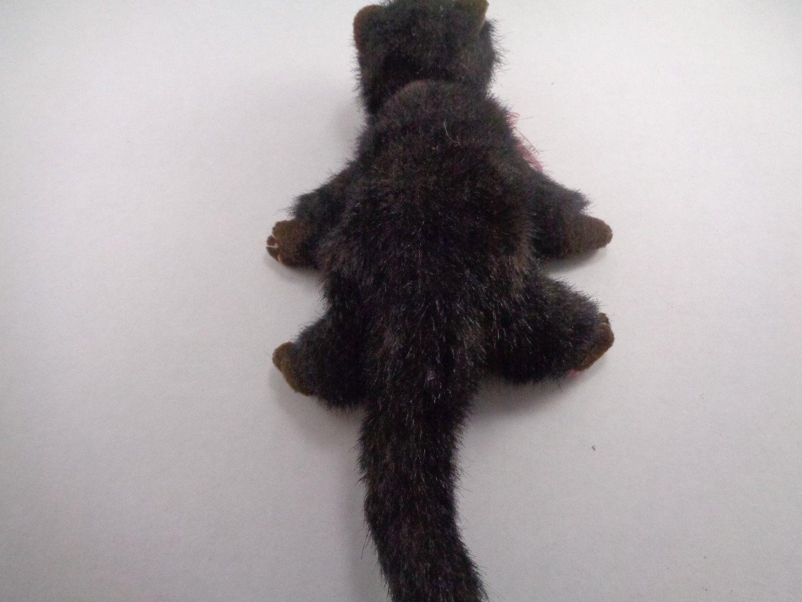 Halloween Ty Black Cat Heiress Pink Bow Plush Stuffed Animal Toy Doll image 7