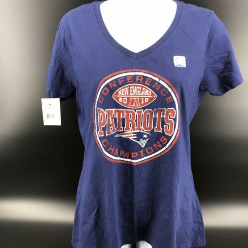 Primary image for New England Patriots Conference Champions Women's Shirt Size Medium - NEW -i