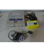 Entièrement Testé Super Nintendo Snes Console Système avec Manette, Av &... - $55.52