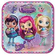 """Little Charmers 9"""" Dinner Lunch Plates 8 Pack Birthday Party Supplies - $2.95"""