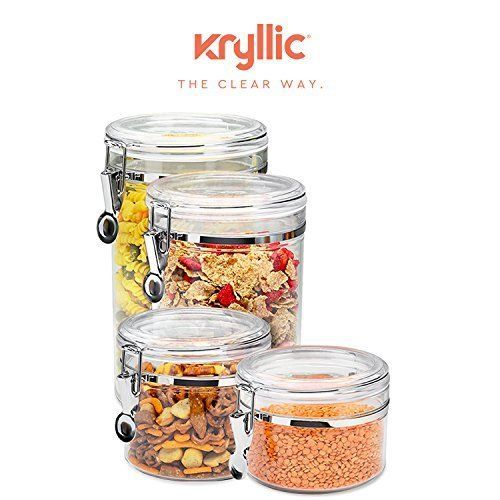 Food storage containers canister set cereal and 26 similar items workwithnaturefo