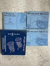 2006 Lincoln Ls Servizio Negozio Riparazione Officina Manuale Set W Camb... - $118.74