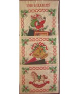 Bucilla 'Tis The Season Quilted Stamped Cross Stitch Cardholder 12x26 Ki... - $19.95