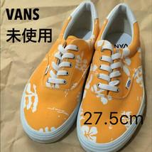 Men 9.5Us Vans Ella Aloha Orange cm - $127.99
