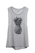 Thread Tank Pineapple Sketch Women's Sleeveless Muscle Tank Top Tee Spor... - $24.99+