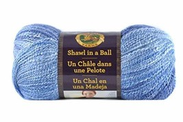 Lion Brand Yarn 828-305 Lionbrand Shawl In A Ball, Wind Chime #ihi - $15.39