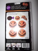Wilton Cookie Candy Mold 1 Design 6 Cavities Jack-O-Lantern Halloween  - $3.49