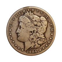 1904 S Morgan Silver Dollar - F / Fine - $67.00