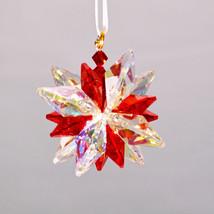 Aurora Borealis Crystal Snowflake Ornament image 6