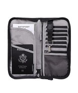 Zoppen RFID Travel Wallet & Documents Organizer Zipper Case - Family Pas... - $509,72 MXN