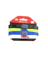 NCAA Sports Team Logo Florida Gators Silicone Bracelets - 4 Pack - $10.99