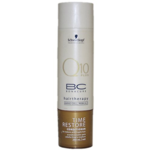 Schwarzkopf BC Bonacure Time Restore Q10 Plus Conditioner for Unisex, 6.8 Ounce
