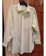 Men's Brooks Brothers 346 Cotton Long Sleeve Green Check Shirt 17 1/2-2/3 - $10.69