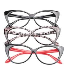Glasses Reading Women Presbyopic Cat Eye Eyeglass Lady Cat Fashion Spect... - $9.78