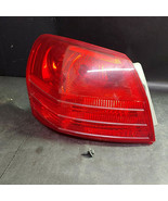 Nissan Driver Left Side Tail Light and Fixtures with Screw, Plastic, Red - $38.81