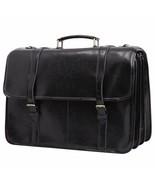 Leathario bag mens leather shoulder satchel laptop - $351.11