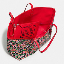 F57669 reversible city tote in posey cluster floral print coated canvas  coach f57669 4 thumb200