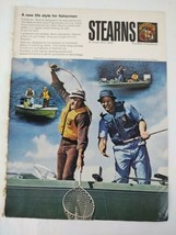 1974 Stearns Fishing Boat Fishermen Original Magazine Print Ad Advertise... - $16.81