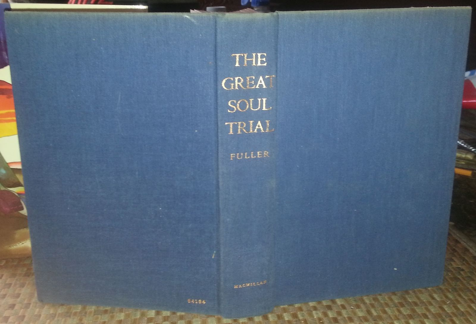 The Great Soul Trial by John G. Fuller 1969 HBDJ Telepathy Clairvoyance Etc.