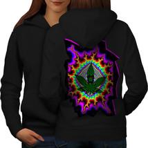 Rasta Weed Psychedelic Sweatshirt Hoody Acid Trip Women Hoodie Back - $21.99+