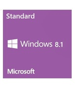 Windows 8.1 Standard 32/64-Bit Full Retail Edition Full Edition Lifetime - $17.47