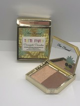 "Too Faced ""TUTTI FRUTTI Pineapple Paradise Strobing Bronzer Highlighting Duo NIB - $17.74"