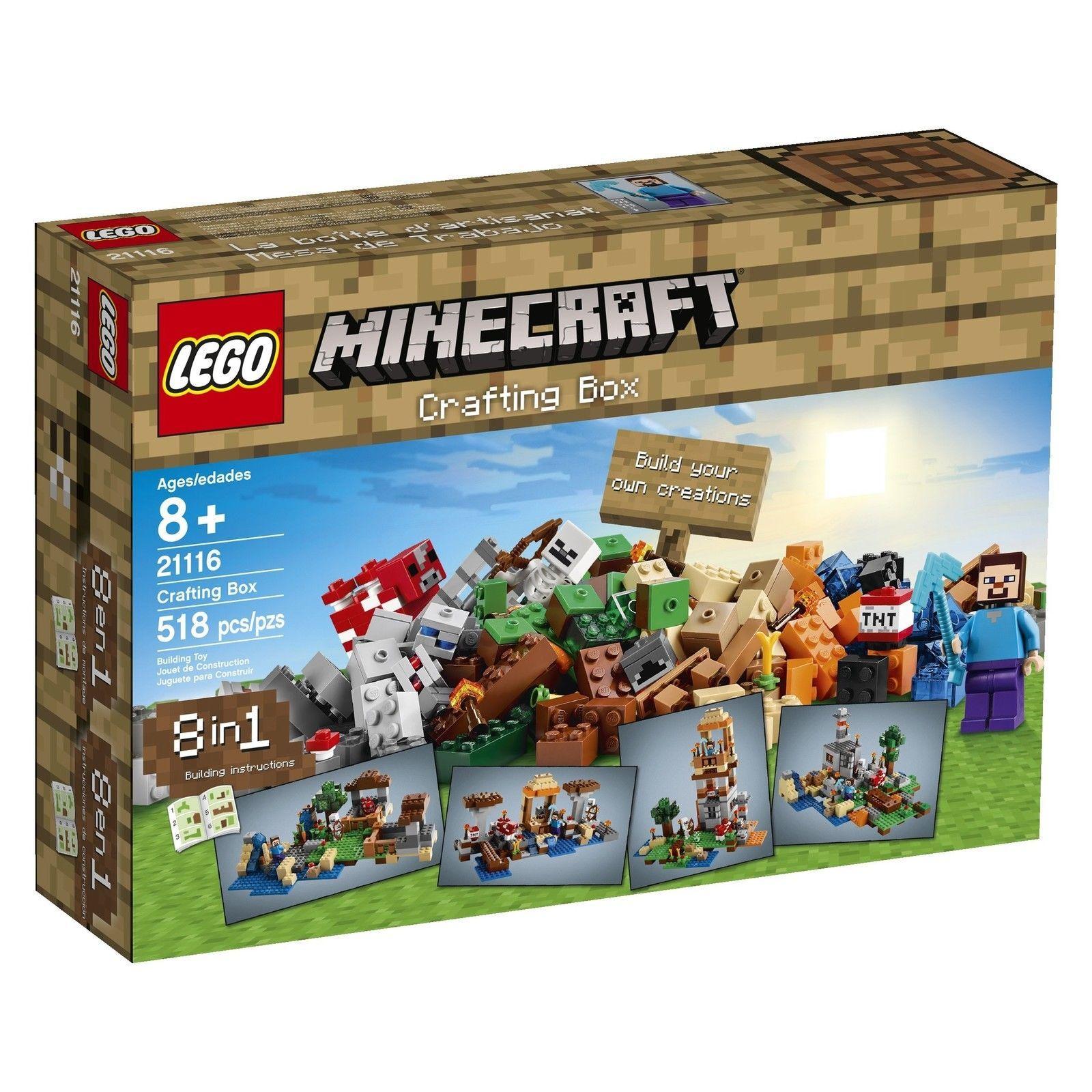 LEGO Minecraft 21116 Crafting Box [New] Building Set