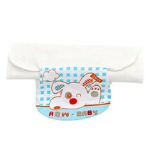 Set of 2 Puppy Style Baby Sweat Absorbent Towels, L 42x28 cm