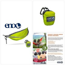 ENO - Eagles Nest Outfitters DoubleNest LED Hammock, Neon/Grey - $181.98