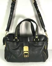 Rebecca Minkoff Black Leather Multi Pocket Multi Compartment Satchel w/ Dust Bag - $179.44