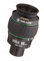 Meade Instruments 607016 Eyepiece, 100 Degree, MWA 10MM, 1.25-Inch (Blac... - $194.76